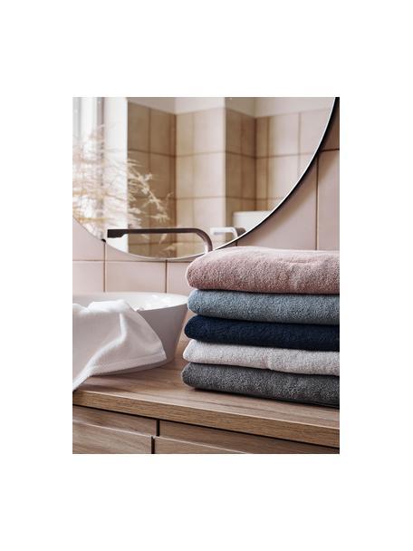 Eenkleurige handdoek Comfort, verschillende formaten, Donkerblauw, Gastendoekje
