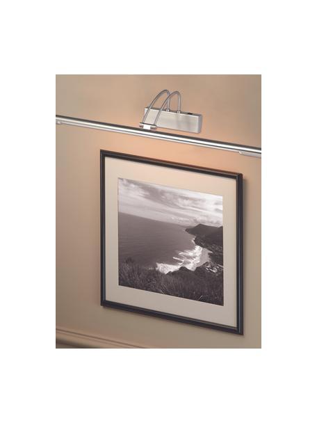 Aplique LED Picture, Lámpara: acero satinado, Plateado, mate, An 68 x Al 12  cm