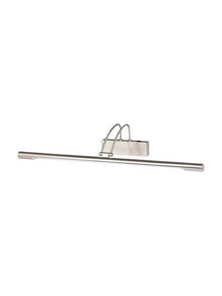 LED-schilderijlamp Picture in zilverkleur, Lamp: staal, satijn, Mat zilverkleurig, 68 x 12 cm
