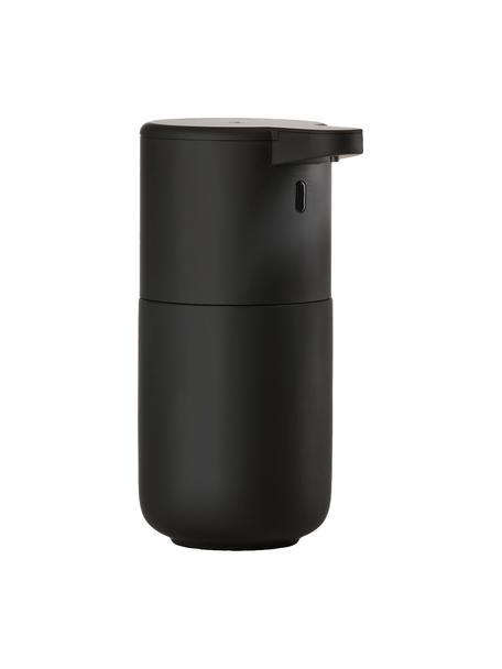 Dosificador de jabón de gres con sensor Ume, Gres, Negro, Ø 12 x Al 17 cm
