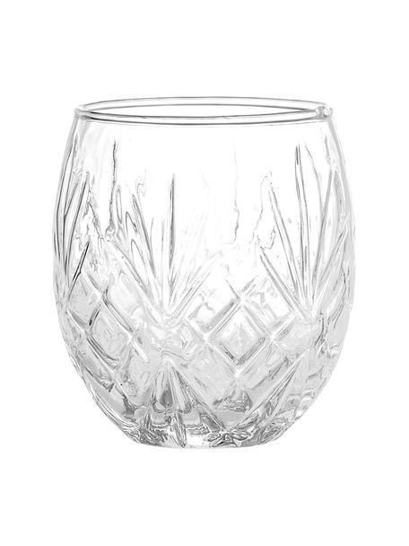 Porta spazzolini in vetro Alice, Vetro, Trasparente, Ø 9 x Alt. 10 cm