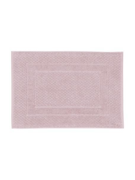 Badmat Katharina in roze, 100% katoen, zware kwaliteit, 900 g/m², Oudroze, 50 x 70 cm