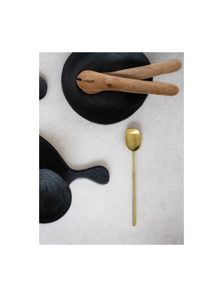 Komplet ręcznie wykonanych sztućców sałatkowych z drewna mangowego Culture, 2 elem., Drewno mangowe, Brązowy, D 30 cm