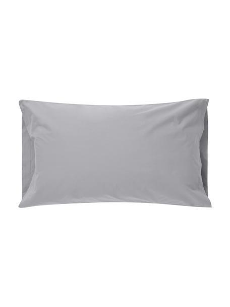 Fundas de almohada Plain Dye, 2uds., 50x85cm, 100%algodón El algodón da una sensación agradable y suave en la piel, absorbe bien la humedad y es adecuado para personas alérgicas, Gris, An 50 x L 85 cm