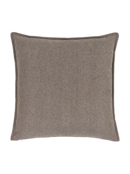 Sofa-Kissen Lennon in Braun, Bezug: 100% Polyester, Braun, 60 x 60 cm