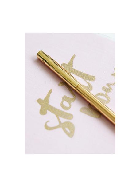 Balpen Golda, Gelakt metaal, Messingkleurig, Ø 1 x L 15 cm