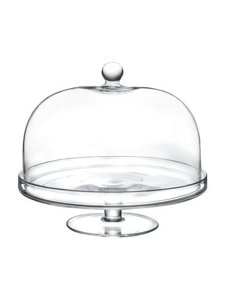 Patera ze szkła kryształowego Lia, Szkło kryształowe, Transparentny, Ø 30 x 26 cm