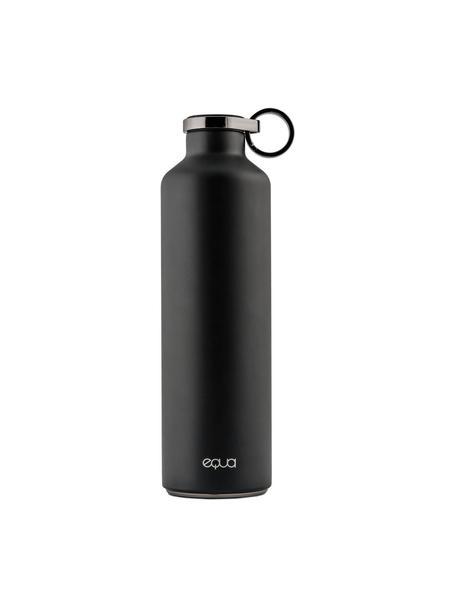 Isolierflasche Classy Thermo Dark Grey, Rostfreier Stahl, beschichtet, Schwarz, Ø 8 x H 26 cm