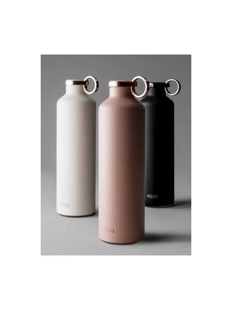 Bidon termiczny Classy Thermo Dark Grey, Stal nierdzewna, powlekana, Czarny, Ø 8 x W 26 cm