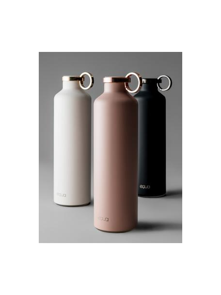 Borraccia termica Classy Thermo Dark Grey, Acciaio inossidabile, rivestito, Nero, Ø 8 x Alt. 26 cm