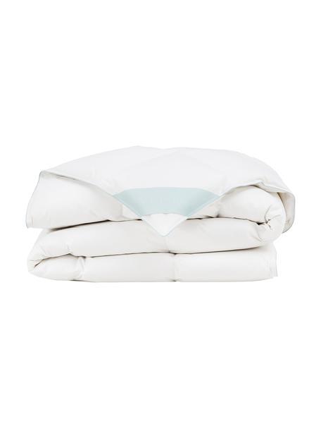 Daunen-Bettdecke Comfort, leicht, Hülle: 100% Baumwolle, feine Mak, Weiß, 200 x 200 cm