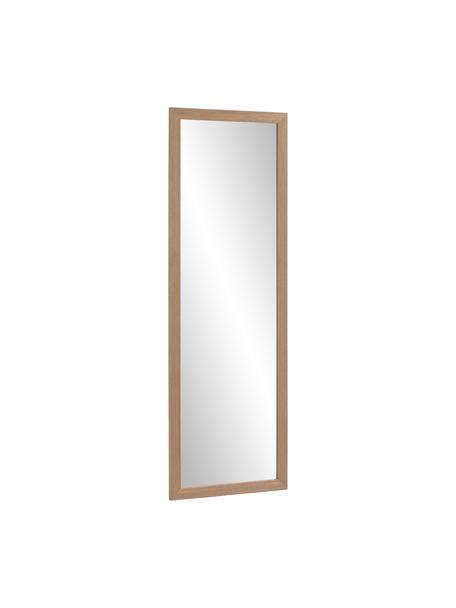 Wandspiegel Wilany mit Holzrahmen, Rahmen: Holz, Spiegelfläche: Spiegelglas, Braun, 53 x 153 cm