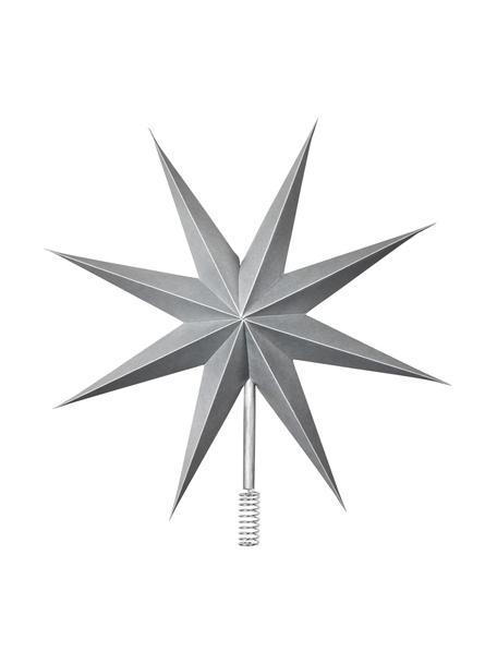 Baumspitze Top Ø 30 cm, Papier, Silberfarben, Ø 30 cm