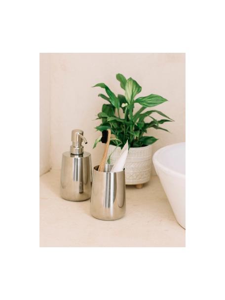 Dispenser sapone Blackwall, Acciaio inossidabile, Acciaio inossidabile, Ø 8 x Alt. 17 cm