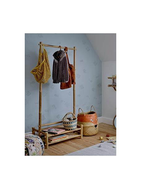 Cesto Fritse, Fibra naturale, Arancione, beige, nero, bianco, Ø 35 x Alt. 40 cm