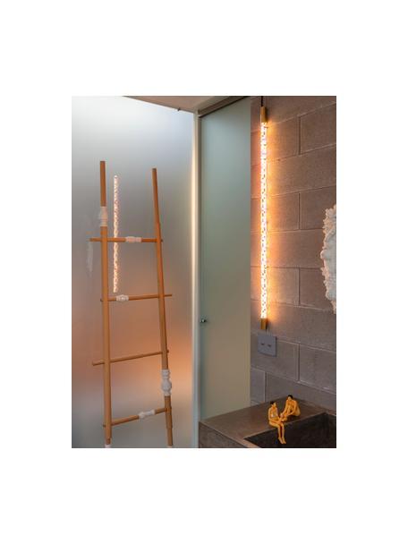 LED-Wandleuchte Linea PixLED-mit Stecker, Lampenschirm: Kunststoff, Gestell: Messing, Mehrfarbig, L 124 cm