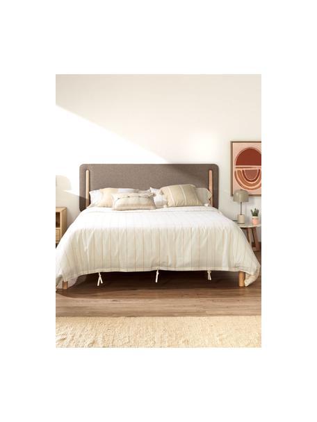 Poszewka na poduszkę Silene, 100% bawełna, Beżowy, S 45 x D 45 cm