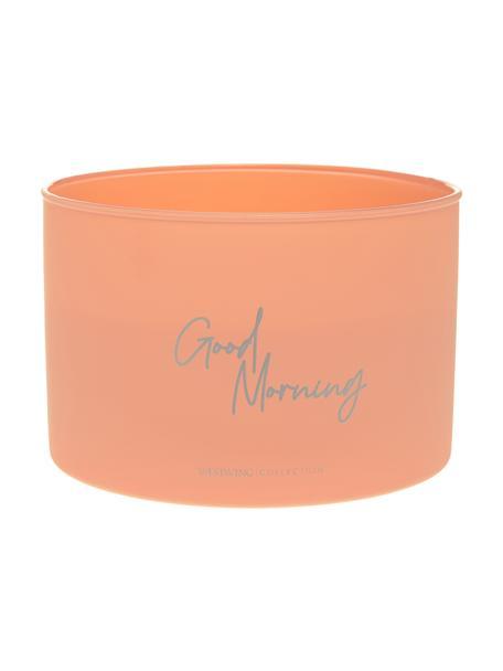 Candela profumata a quattro stoppini Good Morning: Floral Amber, Contenitore: vetro, Rosa, Ø 10 x Alt. 15 cm