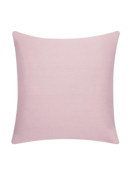 Baumwoll-Kissenhülle Mads in Rosa, 100% Baumwolle, Rosa, 50 x 50 cm