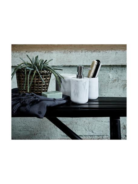 Garten-Sitzbank Mandisa aus Bambus, Bambus, lackiert, Schwarz, 120 x 58 cm