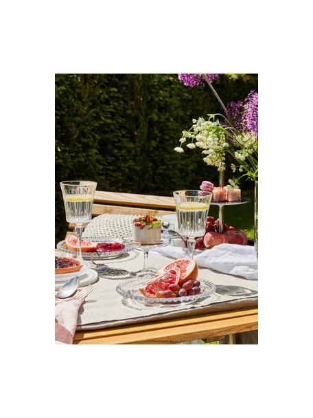 Kieliszek do białego wina ze szkła kryształowego Timeless, 6 szt., Szkło kryształowe Luxion, Transparentny, Ø 8 x W 20 cm