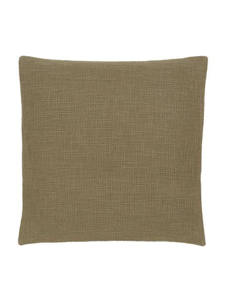 Poszewka na poduszkę Anise, 100% bawełna, Zielony, S 45 x D 45 cm