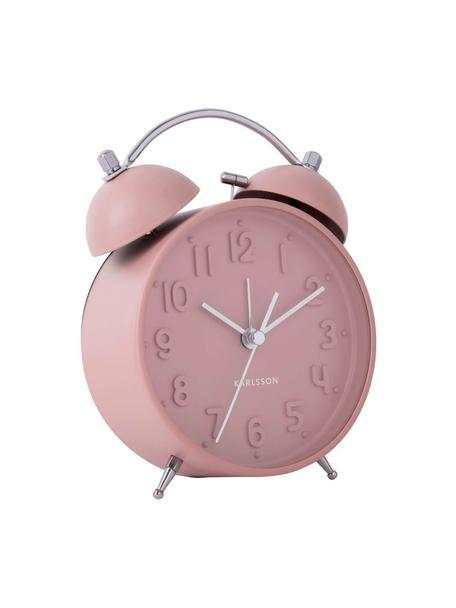 Wekker Iconic, Staal, Roze, staalkleurig, 11 x 15 cm