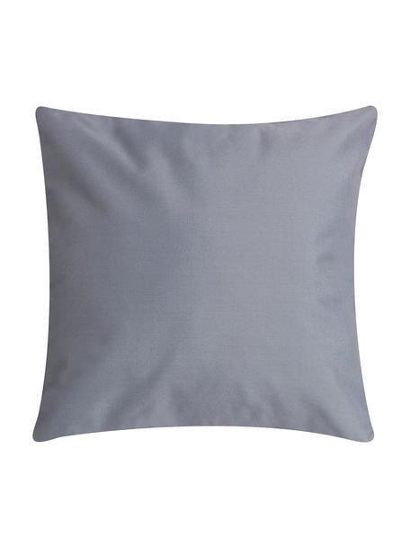 Cuscino da esterno con imbottitura St. Maxime, Grigio scuro, bianco, Larg. 47 x Lung. 47 cm