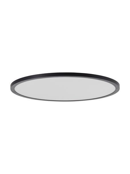 Panel LED regulable de colores Tuco, con mando a distancia, Pantalla: plástico, Negro/blanco, Ø 50 x Al 3 cm