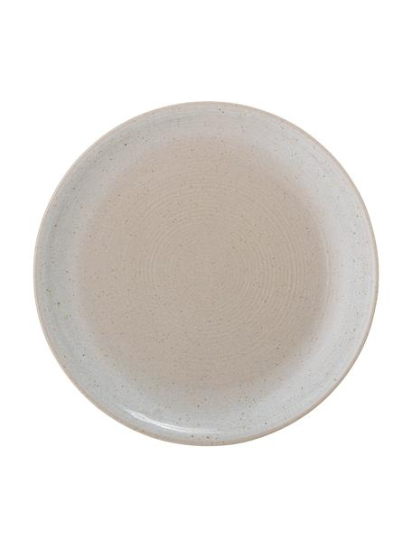 Talerz śniadaniowy Taupe, 2 szt., Kamionka, Szary, beżowy, Ø 22 cm