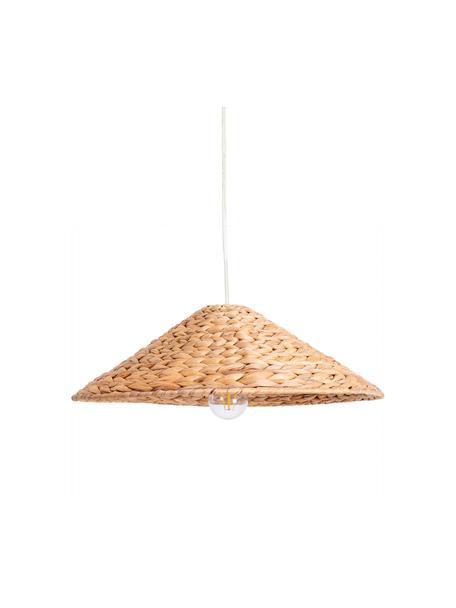Lampa wisząca w stylu boho Corb, Hiacynt wodny, Ø 45 x W 14 cm