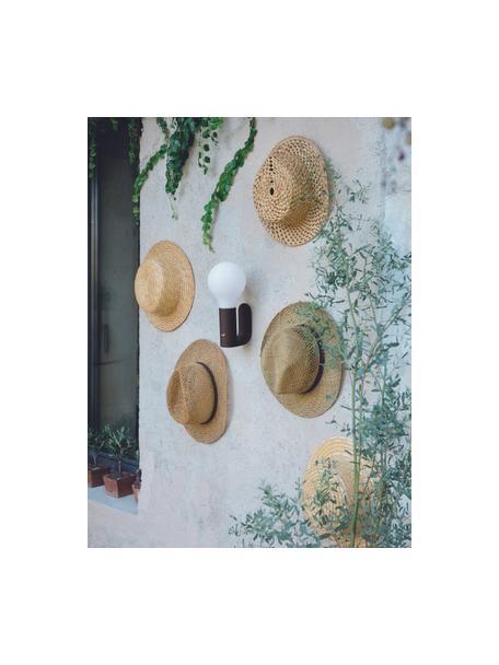 Wandbevestiging voor outdoor lamp Aplô, Antraciet, 5 x 12 cm