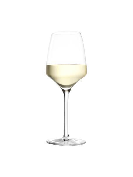 Kieliszek do białego wina ze szkła kryształowego Experience, 6 szt., Szkło kryształowe, Transparentny, Ø 8 x W 21 cm