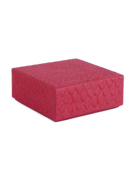 Pudełko prezentowe Snake, Papier, Czerwony, S 14 x W 6 cm