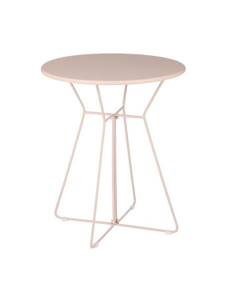 Mesa para blacón Bueno, Metal recubierto, Rosa, Ø 60 x Al 70 cm