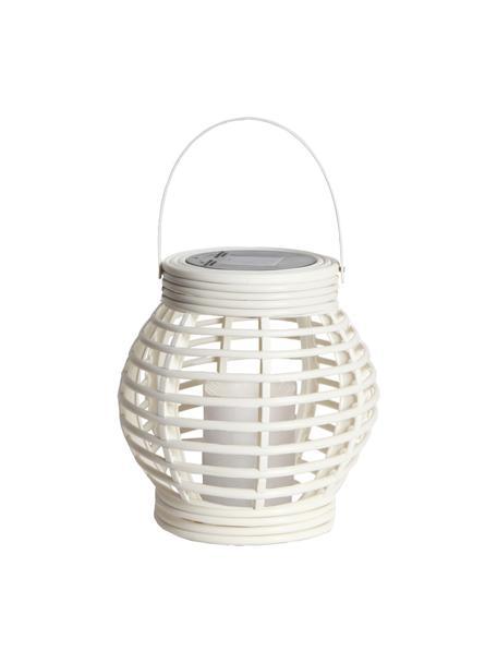 Candela solare a LED Lantern, Bianco, Larg. 16 x Alt. 16 cm