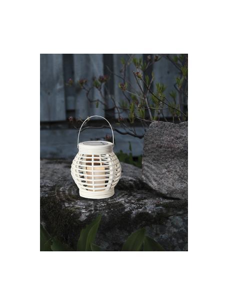 Lámpara farolillo solar LED Lantern, Estructura: plástico, Blanco, An 16 x Al 16 cm