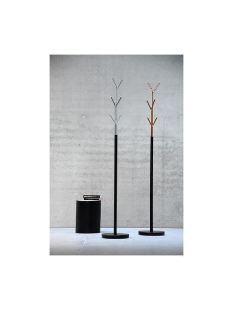 Kapstok London, Frame: gepoedercoat staal, Zwart, koperkleurig, Ø 31 x H 177 cm