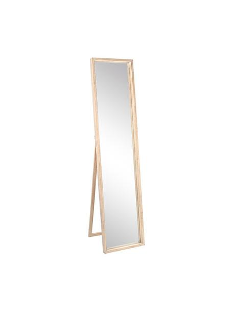 Espejo de pieTiziano, Reverso: tablero de fibras de dens, Beige, An 40 x Al 170 cm