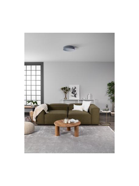 LED-Deckenleuchte Helen in Grau, Diffusorscheibe: Kunststoff, Grau, Ø 35 x H 7 cm