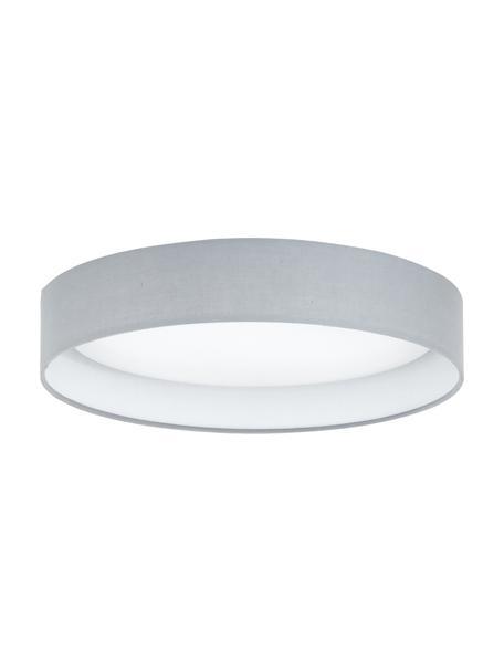 Plafoniera a LED grigia Helen, Struttura: metallo, Grigio, Ø 35 x Alt. 7 cm