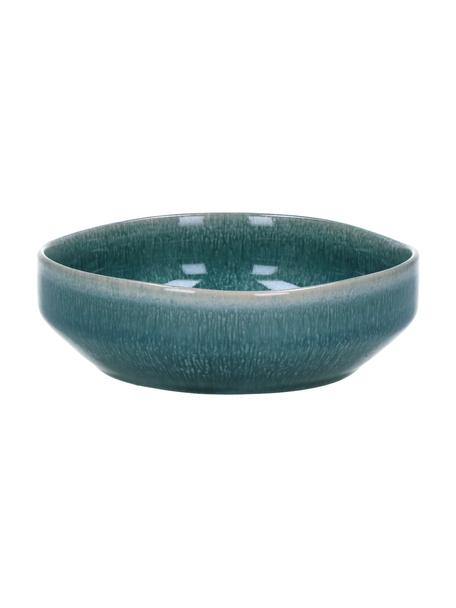 Suppenteller Audrey, 2 Stück, Steingut, Grün-Blau, Ø 16 cm