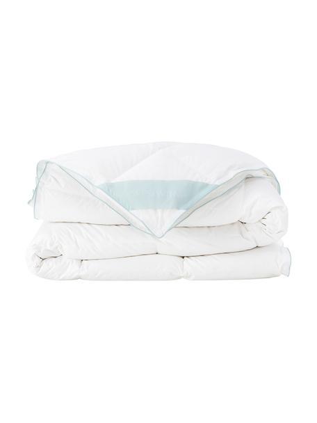 Reine Daunen-Bettdecke Premium, Vierjahreszeiten, Hülle: 100% Baumwolle, feine Mak, Weiß, 200 x 200 cm