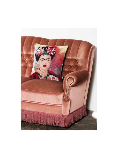 Kussenhoes Legend in kleur, 50% katoen, 45% polyester, 5% polyacrylnitril, Multicolour, 45 x 45 cm