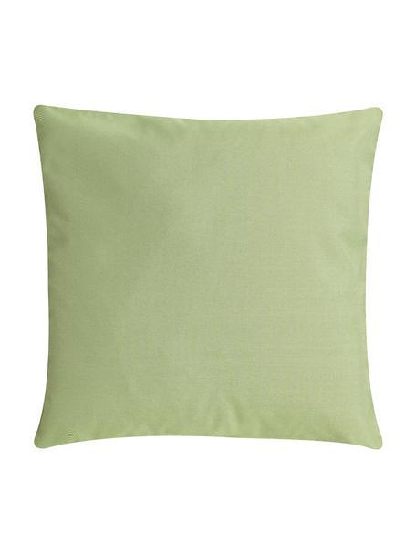 Cuscino da esterno tessuto bicolore St. Maxime, Verde, Larg. 47 x Lung. 47 cm