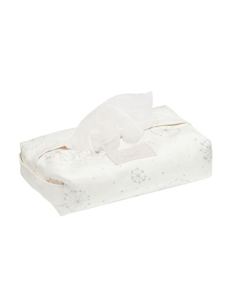 Estuche toallitas Dandelion, 100%algodón ecológico, Crema, beige, An 25 x F 17 cm
