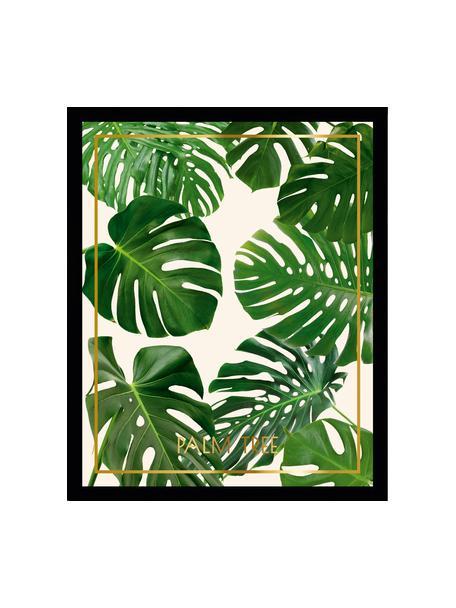 Lámina decorativa Palm Tree II, Parte trasera: fibra de densidad media, Multicolor, An 40 x Al 50 cm