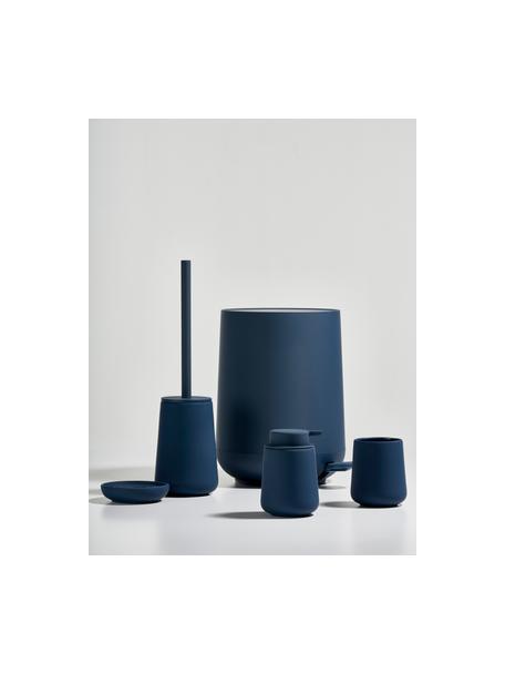 Porzellan-Zahnputzbecher Nova One, Porzellan, Königsblau, Ø 8 x H 10 cm