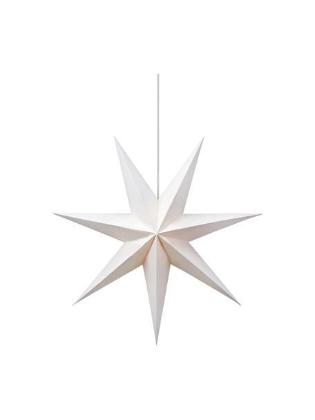 Lámpara estrella Duva, con enchufe, Cable: plástico, Blanco, Ø 75 cm