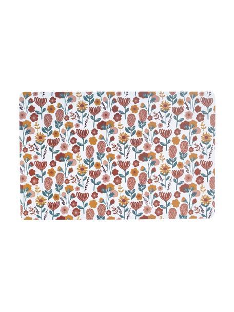 Manteles individuales Sevent, 2uds., Plástico (PVC), Blanco, multicolor, An 29 x L 44 cm
